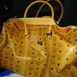 Mcm duffle Bag Authentic